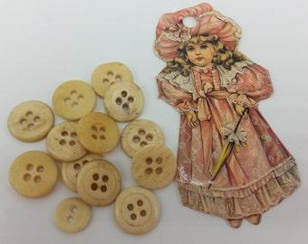 Antique Bone Buttons Civil War Era reenactment bone buttons