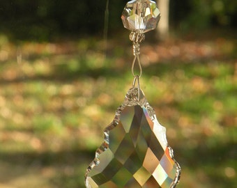 Crystal Beaded Prism Sun Catcher Rainbow Maker