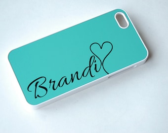 Bright Phone Case Teal, Phone Case Unique, Personalized Phone Case, Phone Case Custom, Phone Case, iPhone 6, iPhone 6s case, iPhone case