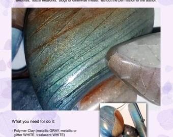 Polymer Clay Tutorial Faux Labradorite