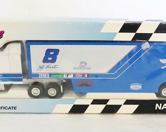 Vintage mettel Nascar race image douglas battery truck car limited edition