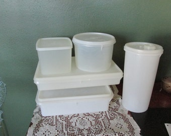 Tupperware Bacon, Snack Keepers Plus Three other Set of 5