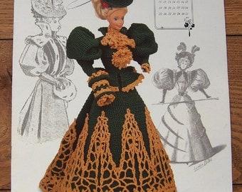 1994 crochet pattern FAshion Doll MISS DECEMBER 1994