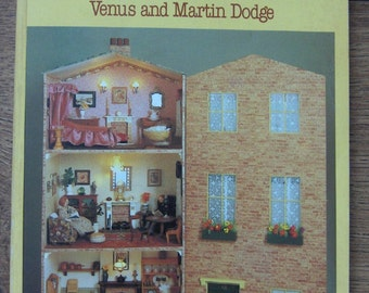 vintage doll's house pattern book by Venus and Martin Dodge patterns for dollhouses furniture dolls children toy