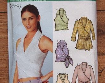 2003 New Look pattern 6252 Misses Tops sz 6-16 uncut