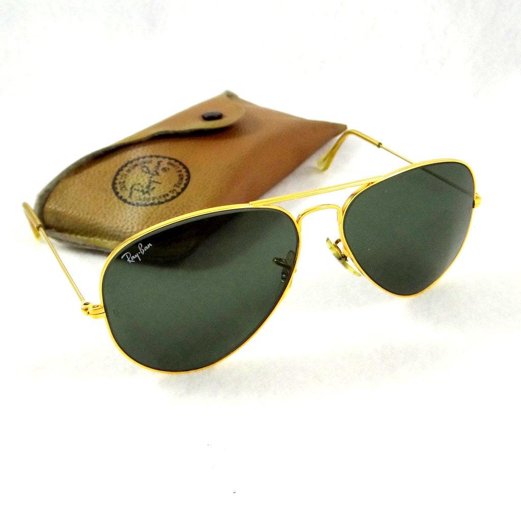 original ray ban aviator sunglasses identification