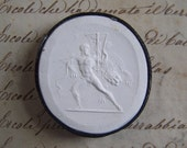 Antique Grand Tour Cameo Plasters From the 1800's