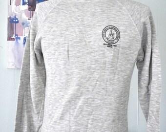 Vintage Sweatshirt London Great Ormond Streeet Hospital Soft Thin Heather Gray SMALL