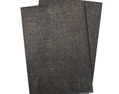 "Heavy Duty Floor and Furniture Felt Sheets - 5-7/8"" x 8-1/2"" Size, Dark Brown, Multiple Pack Sizes Available"