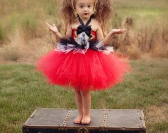 Little Ring Master Tutu Dress & Hat with Halloween Delivery