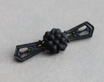 Antique Victorian Mourning Bar Pin