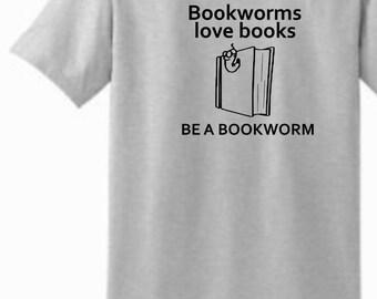 Reading shirt, book lover's tee, teacher reading shirt, Bookworm shirt, inner nerd shirt, librarian shirt, Read Across America tee, gift