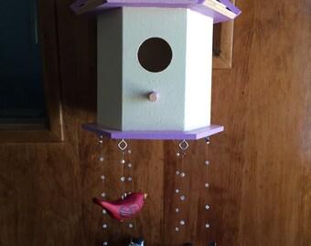 CUSTOM Bird house   Nursery Decoration