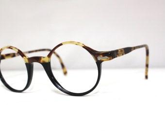 90s Eyeglasses / Round lens /Optical quality designer frames /Rag Time