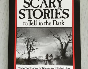 """1980s Alvin Schwartz """"More Scary Stories to Tell in the Dark"""" vol. 1 original printing"""