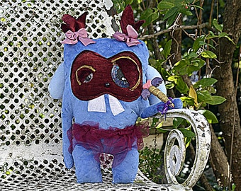 Fred The Figment Monster Plush