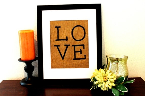 Love Sign, Wall Decor, Gift Under 30