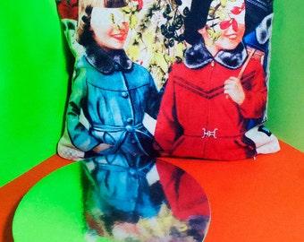 SALE Cushion Cover - Friendship/03