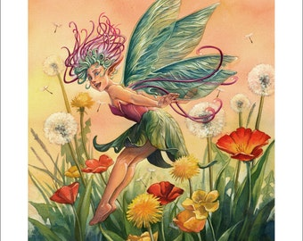 CLEARANCE SALE! A Faerie's Welcome 11 X 14 inch Fine Art Print
