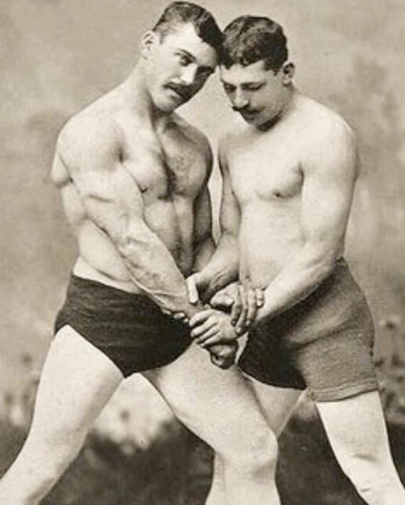 Male Nude Wrestlers 75