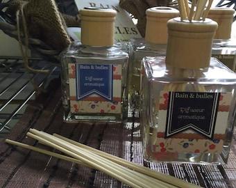Diffuseur aromatique avec bâton de rotin de bambou, parfum de maison, reed diffuser