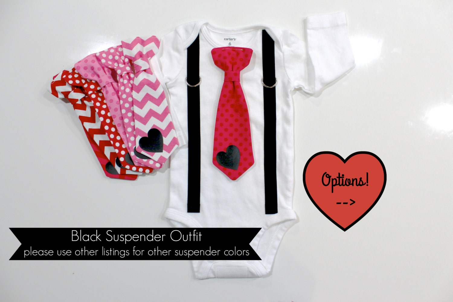 Baby Boy Valentine's Day Outfit. Newborn boy. First