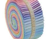 Kona Solids Pastel Jelly Roll