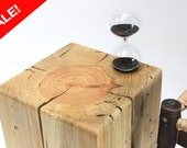 SALE ~ Table Reclaimed Wood Timber Block