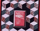 "Millenium Falcon Lap Quilt, 53"" X 73"""
