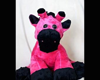 "CUSTOM 15"" Glenn the Giraffe - Softie - Stuffed Giraffe Giraffe - Stuffed Toys - Toys - Sweetbriar Sisters Giraffe"