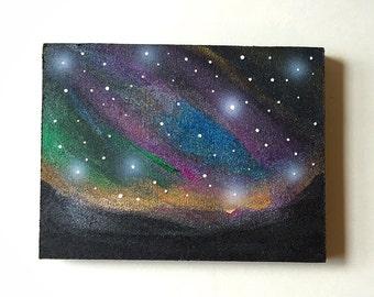 Landscape Galaxy Mini Painting #3
