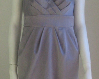 80s vintage handmade grey dress