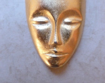 Golden Face/Mask Magnet