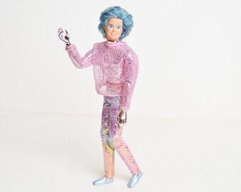 Vintage 80s Spectra Tom Comet Doll Mattel