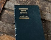 1944 KNOW THYSELF Vintage Grid-Lined Notebook Journal