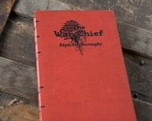 1927 THE WAR CHIEF Grid-Lined Notebook