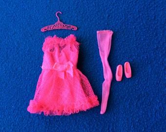 Barbie Francie Doll Mod Fashion - Pink Power 1970