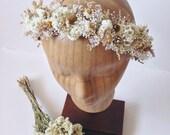 Golden Light Flower Crown // Bridal Crown // Flower Halo