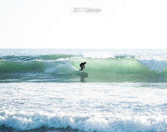 2017 Calendar, California Calendar, Desk Calendar, California Photos, Beach, Palm Trees, California Prints, 2017 Desk Calendar