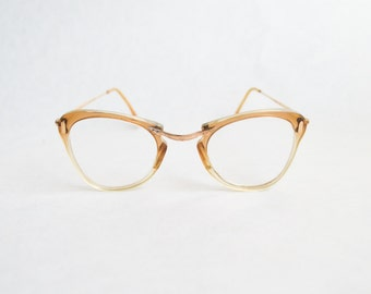 1950s 60s Spectacle frames / 50s ladies retro eyeglasses