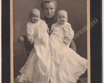 The Twins - Instant Download Vintage Photograph
