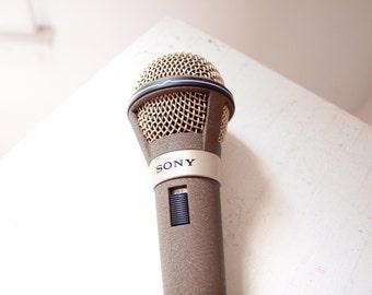 Vintage Sony Musician Series Microphone