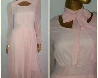 Vintage pink convertible dress Reduced