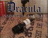 DRACULA inspired Perfume Oil Samples / 1ml perfume / Vegan perfume / Gothic Perfume