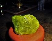 Large Rough Neon Green Healerite Serpentine - Egyptian Magic, Kundalini Activation, Meditation Enhancement, Nature Magic, Protection, Luck