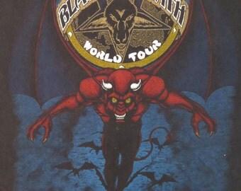 Original BLACK SABBATH 1983 tour T SHIRT