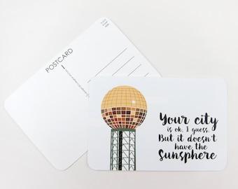 Sunsphere: Set of 3 Postcards
