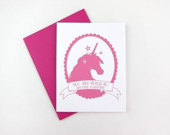 You Are Magical: Love / Thank You / Any Occasion Card