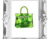 Instant Download- Hermes Purse Wall Art