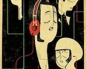 Music Lovers artprint